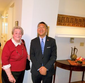 Amb. Donald Lu and I